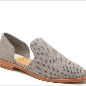 New Dolce Vita Cody flat suede loafer in smoke